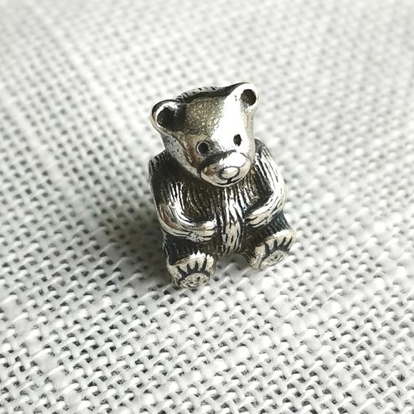 Pandora Teddy Bear charm Sterling Silver 925